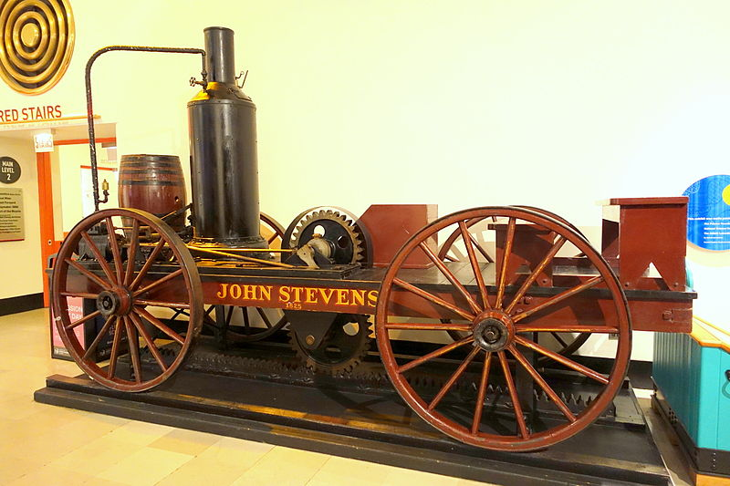 John_Stevens_locomotive,_1928_replica_of_1825_original_-_Museum_of_Science_and_Industry_(Chicago)_-_DSC06580.JPG